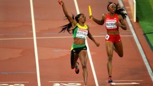 Алисън Филикс не стигна на САЩ за златото на 4 по 400 метра