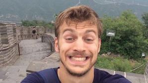 Льометр стигна до Великата китайска стена