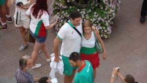 Волейболните национали раздаваха автографи на Главната в Пловдив (СНИМКИ)