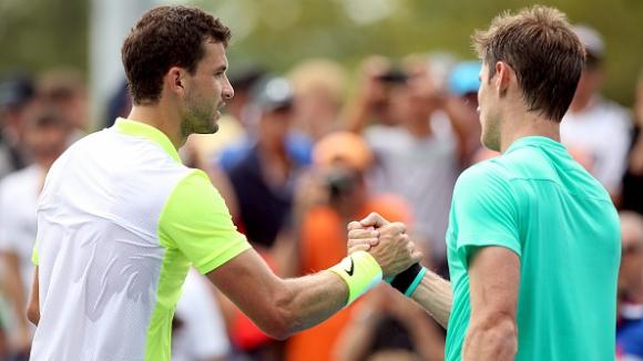 Григор доволен от старта си на US Open