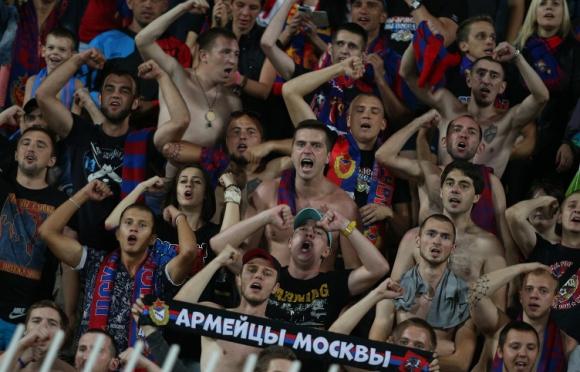 УЕФА наказа ЦСКА (Москва)