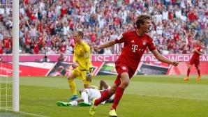 Мюлер може да вкара над 50 гола, надъхват се в Байерн