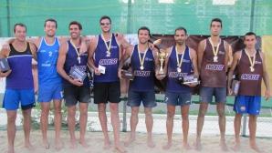 Григоров и Ботев спечелиха Snickers Cup по плажен волейбол