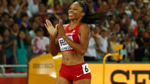Разместват програмата в Рио за дубъл 200/400 м на Алисън Филикс?