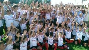Милан Камп в София стартира с 80 деца (видео)