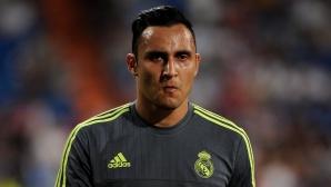 """Коста Рика освободи Навас, за да """"реши ситуацията си в Мадрид"""""""