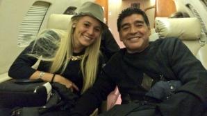 Марадона иска Папа Франциск да го венчае