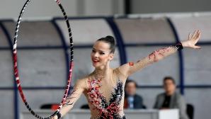 Националният отбор по художествена гимнастика пристигна в Щутгарт