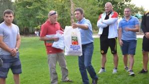 Валентин Йорданов се включи в партито на борците в град Бойзи