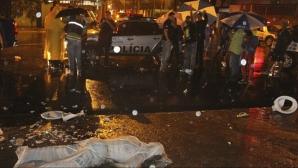 Трима бразилски фенове осъдени за убийство с тоалетна чиния