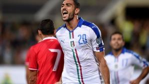 """Италия си е Италия! """"Адзурите"""" едвам-едвам излъгаха Малта (видео)"""