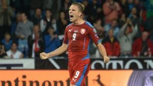 Чехия обърна Казахсан в труден мач и изскочи втора (видео)