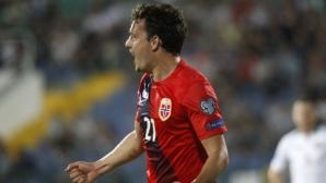 Авторът на победния гол за Норвегия срещу България направи рядко срещано признание