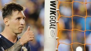 Лео вече е на 6 гола от голмайсторския рекорд за Аржентина
