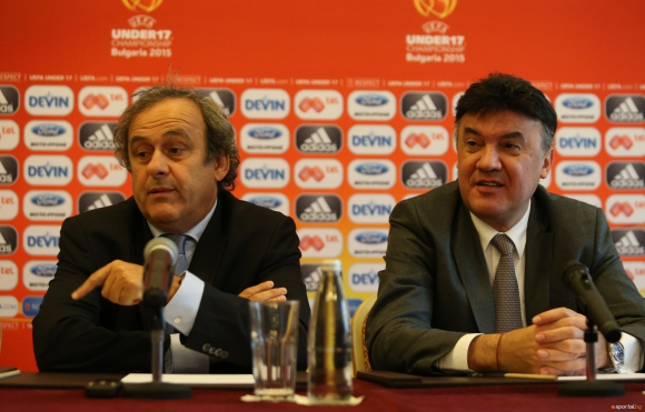 Борислав Михайлов участва в Стратегически съвет на УЕФА