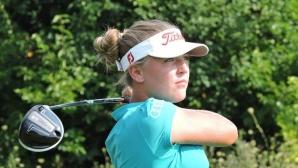Стефани Скоканска - една от надежите ни в голфа