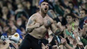 """""""Косово е Сърбия"""" прекъсна мач в Москва (видео)"""