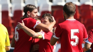 Девета поредна победа и 43:0 - ЦСКА пак бие с много (видео+галерия)
