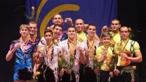 Акробатите ни с бронзови медали в многобоя
