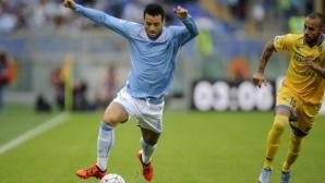 Лацио наказа Фрозиноне в края, Тонев поигра 15 минути