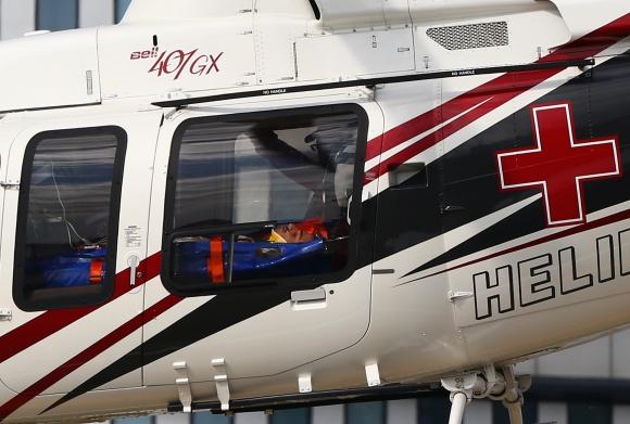 """Карлос Сайнц-младши в болница след катастрофата на """"Сочи"""" (Снимки)"""