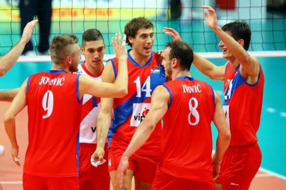Сърбия напред на Евроволей 2015 след 3:0 над Финландия (СНИМКИ)