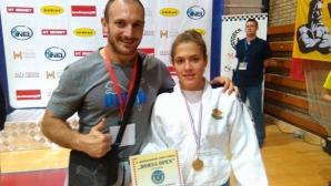 Спортният талант Марая Любенова спечели злато в Босна
