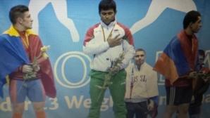 България със злато на европейското първенство по вдигане на тежести в Литва
