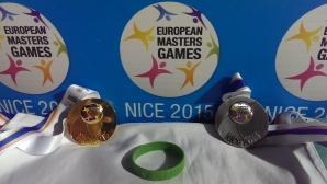Българки с по три отличия на Европейските игри за ветерани