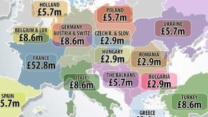 В Англия обявиха колко пари получава Премиър лийг от чужбина и в частност от България (снимки)