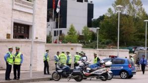 Сръбските национали се разходиха по улиците на Тирана