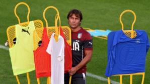 Италия ще се класира с 4-4-2