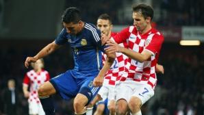 Хърватските национали очакват труден мач срещу България