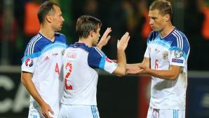 """Игнашевич вкара """"най-възрастния"""" гол за Русия"""