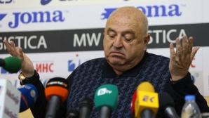 Венци Стефанов: Криза при нас няма, сами изгонихме Живко и Мбарга