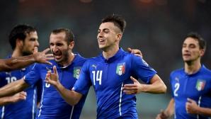 """Италия каза """"Бонджорно, Франция"""", """"адзурите"""" със забележителна победа"""