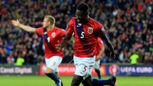 Норвегия с решителна крачка към Евро 2016 (видео)