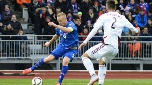 Исландия подходи великодушно с Латвия