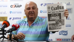 Венци Стефанов: Никой не може да рекетира Славия, знам откъде идват атаките