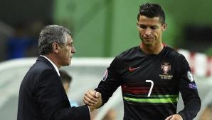 Невъзможно е да смениш Кристиано, убеден е треньорът на португалците