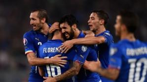 Италия прати Хърватия на Евро 2016 и хвърли Норвегия на лъвовете (видео)