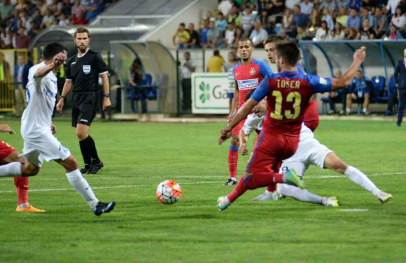Пацо Илиев и Ради Димитров с 90 минути за Ботошани в луд мач със Стяуа