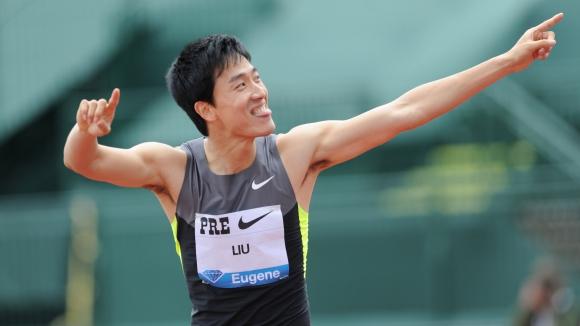 Лю Сян завърши състезание на 10 км, готви се за полумаратон