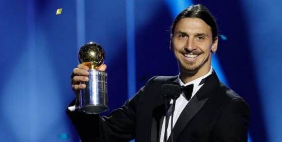 Златан взе десета награда за №1 в Швеция