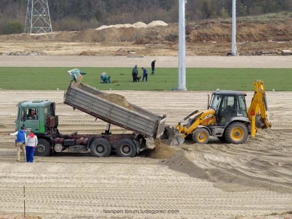 Лудогорец продължава с изграждането на най-модерната база в България (снимки)