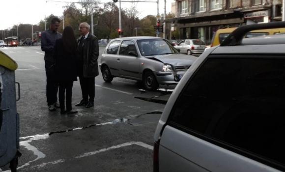 Бивша звезда на Левски замесен в пътен инцидент (снимки)