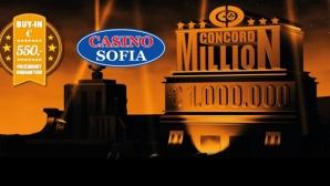 $1,000,000 гарантиран награден фонд на Concord Million и стартов ден в София!
