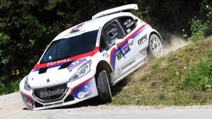 С две поредни победи Турк повежда в класирането на рали Следна гора