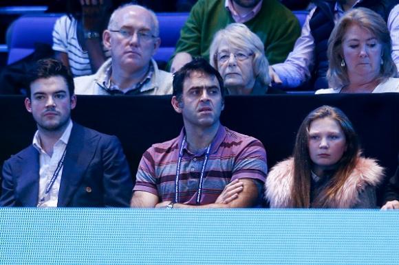 Рони гледа тенис преди идването в София