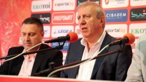 Томов: Защо двамата господа драпаха и влязоха в ЦСКА със силови похвати?